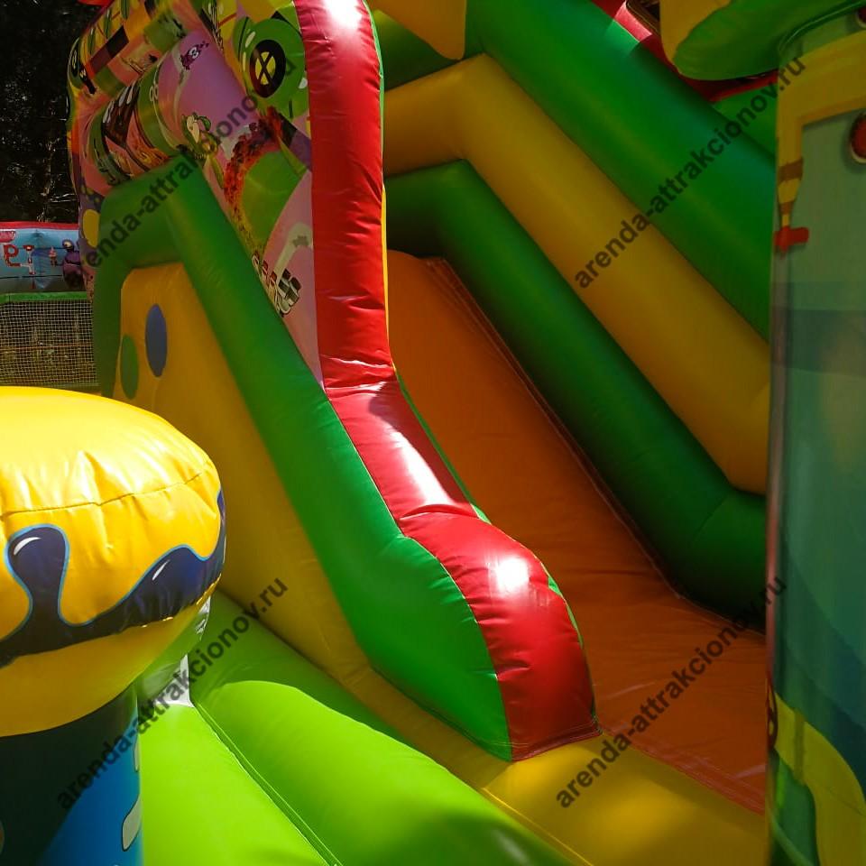 Фиксики надувной батут на детский праздник