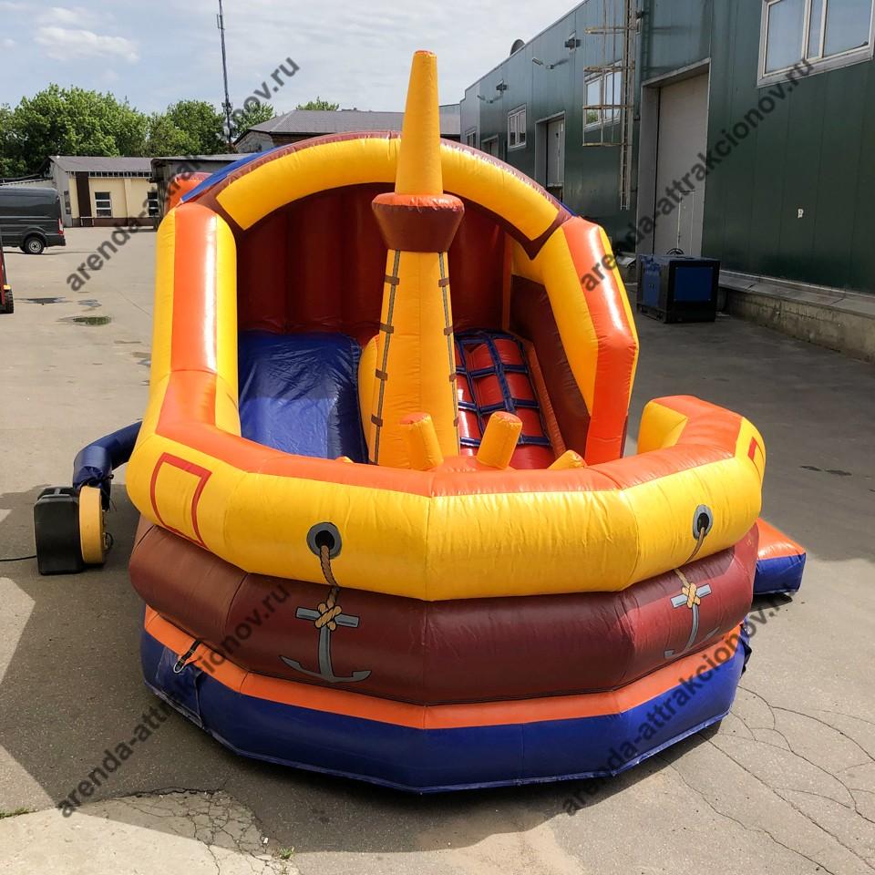 Надувной корабль на детский день рождения