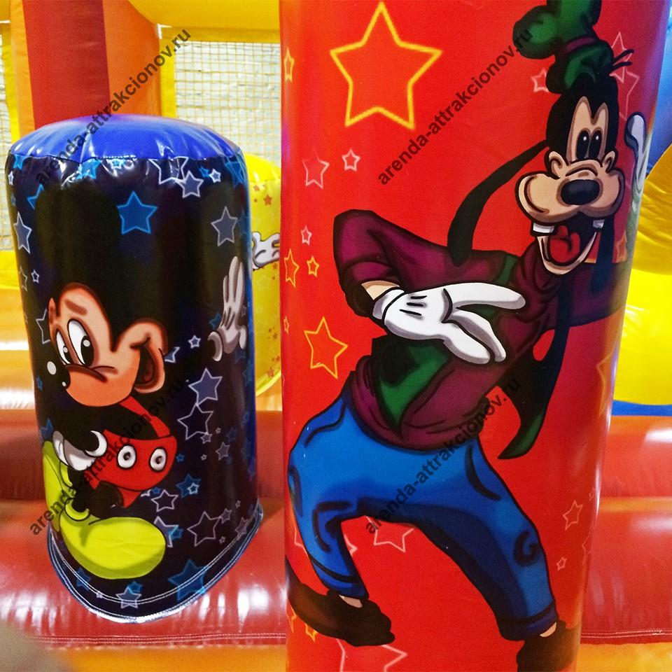 Заказать детский батут Микки Маус на праздник