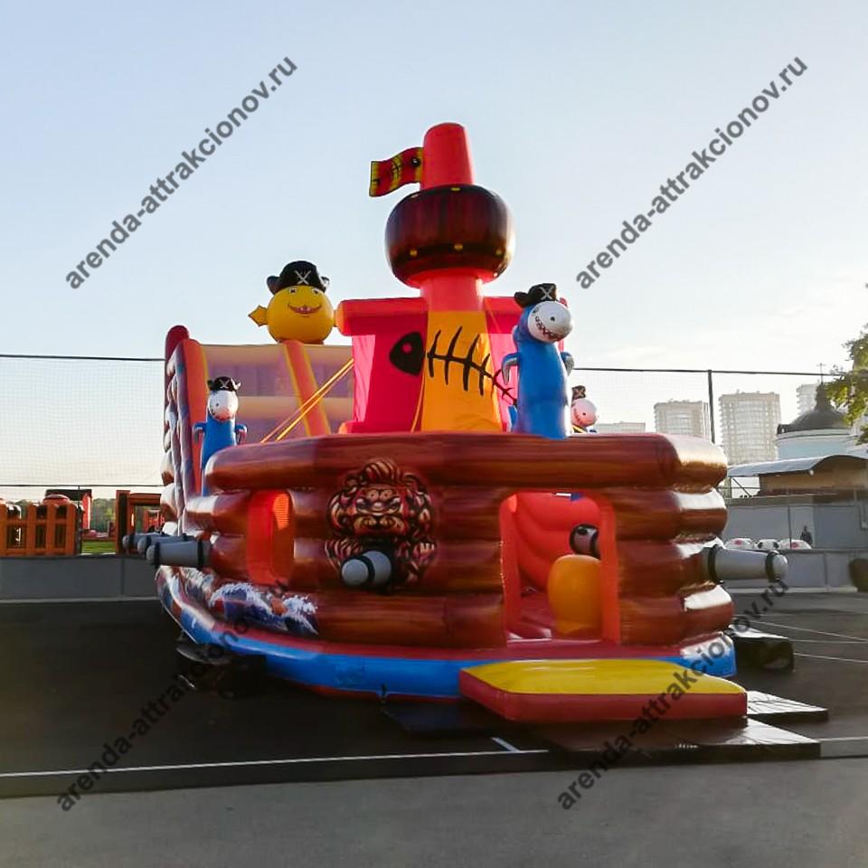 Пиратский корабль на праздник