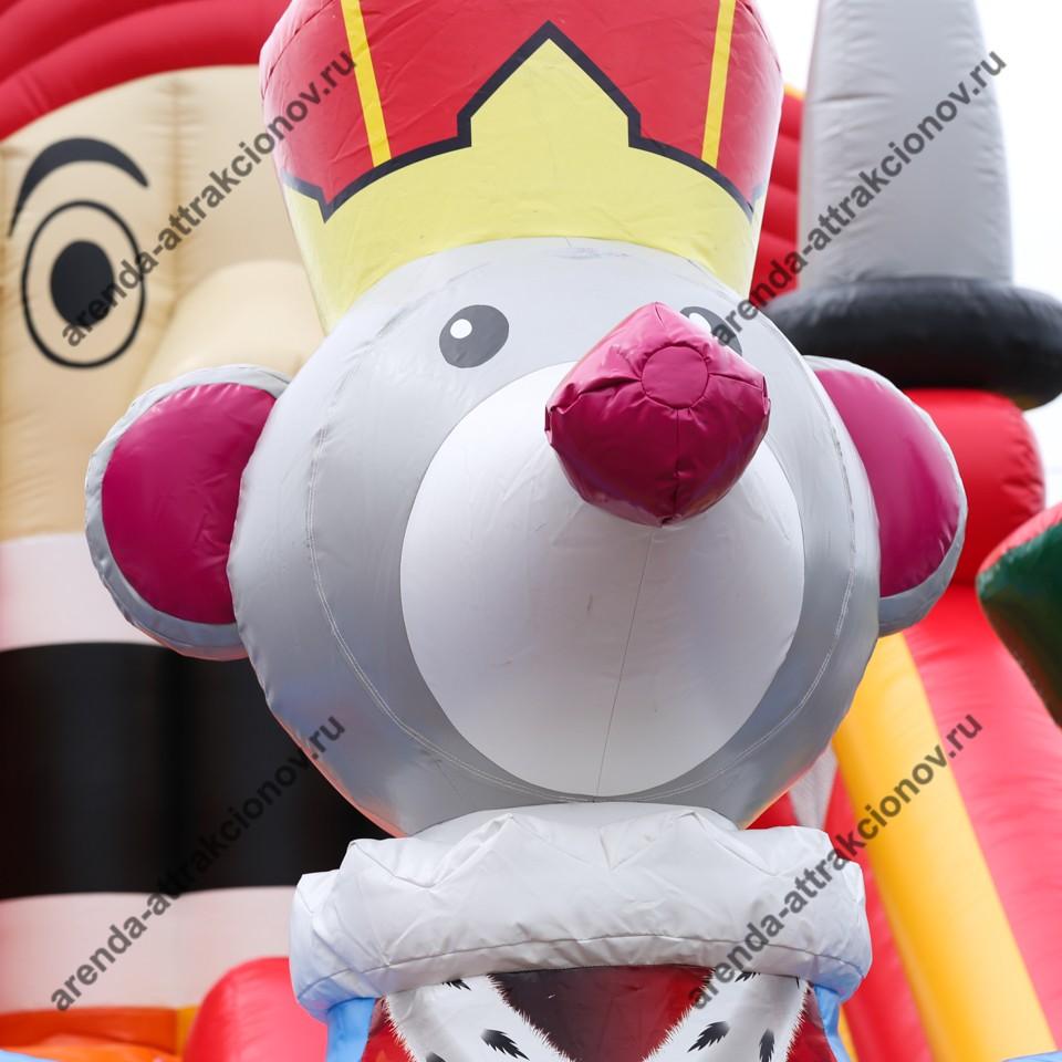 Детский надувной батут Щелкунчик на праздник