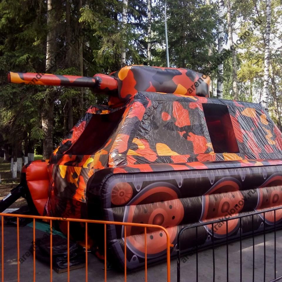 Аренда Батута танк в аренду