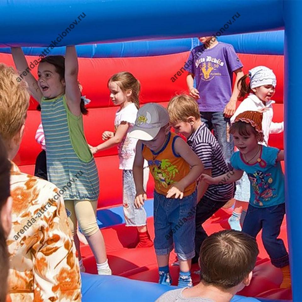 Батут Замок в аренду на детский праздник