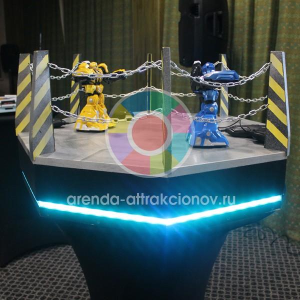 Комплект Toxic для аттракциона Битва роботов