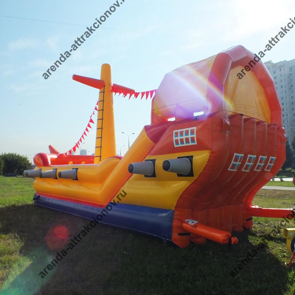 Надувной корабль на детский праздник