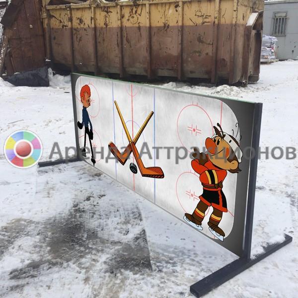 Бортик в хоккейной тематике