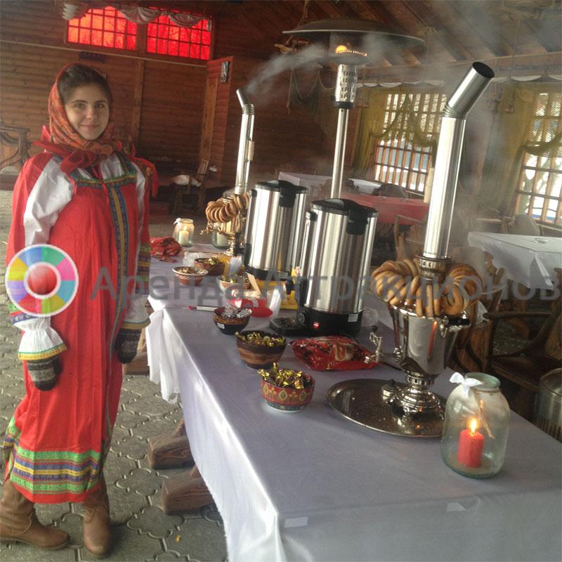 Аренда чаепития в русском стиле