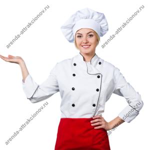 Повар для блюд на вертеле