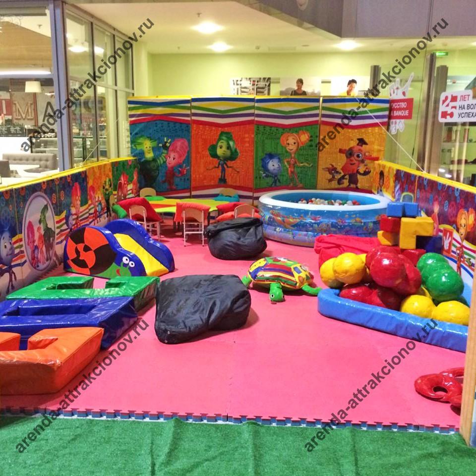 Выездная детская комната