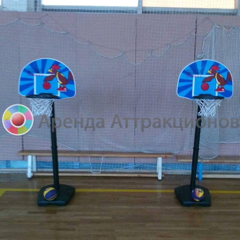 Детская баскетбольная стойка аренда