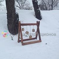 Деревянный тир - комплект Дворянский