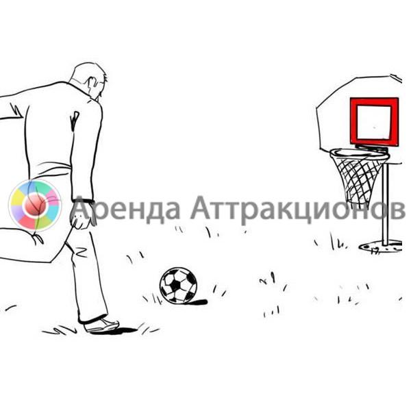 Аренда футбольного баскетбола на спортивное мероприятие