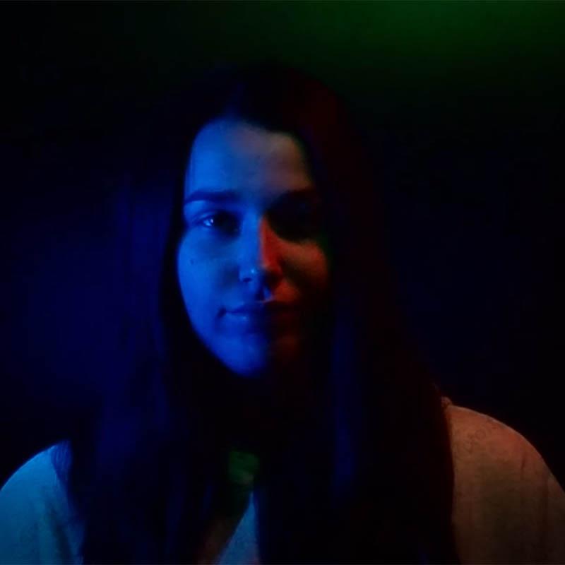 фотозона с двумя световыми приборами