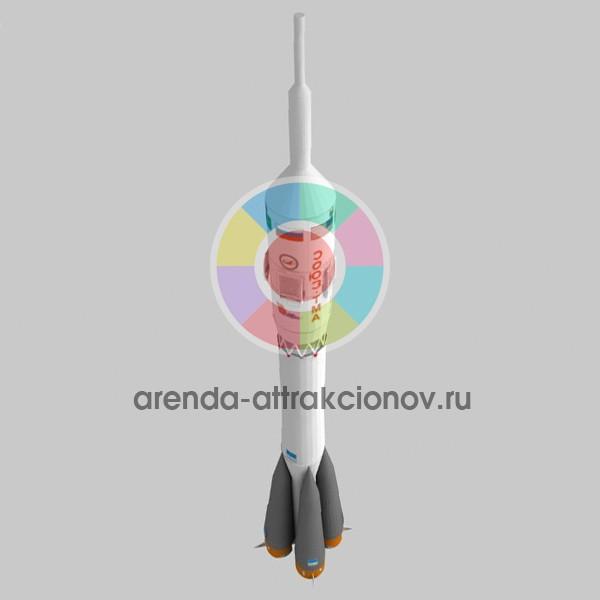 Модель ракетоносителя для космической фотозоны