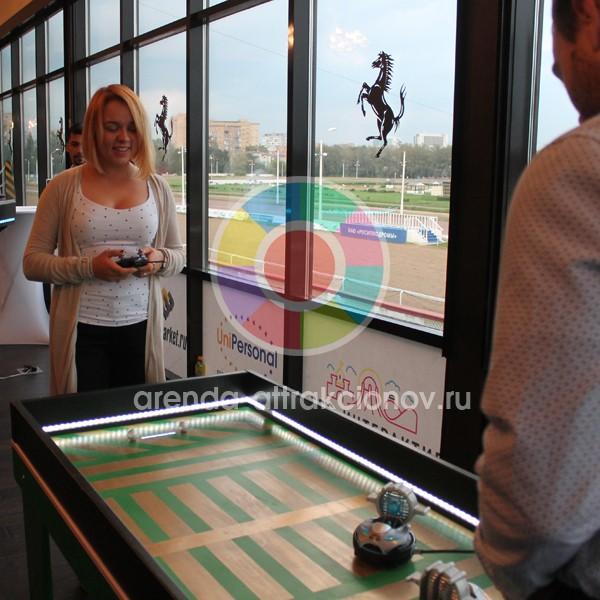 Футбол с роботами в аренду на мероприятие