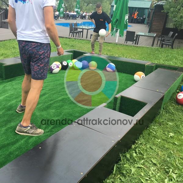 Аренда аттракциона PoolBall
