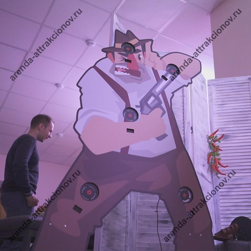 Гангстерский лазерный тир в аренду на мероприятие