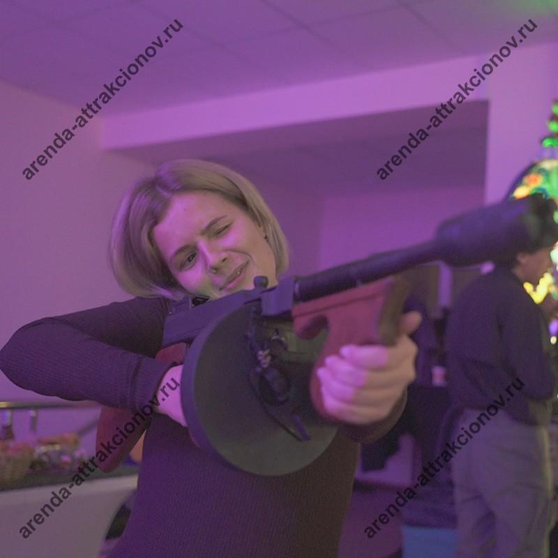 Аренда тира на вечеринку в стиле гангстеров