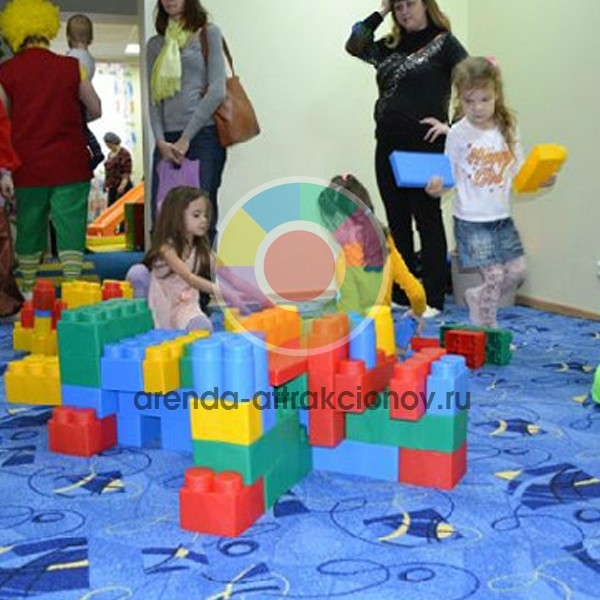 Аренда Гигантского Лего на мероприятие в Москве