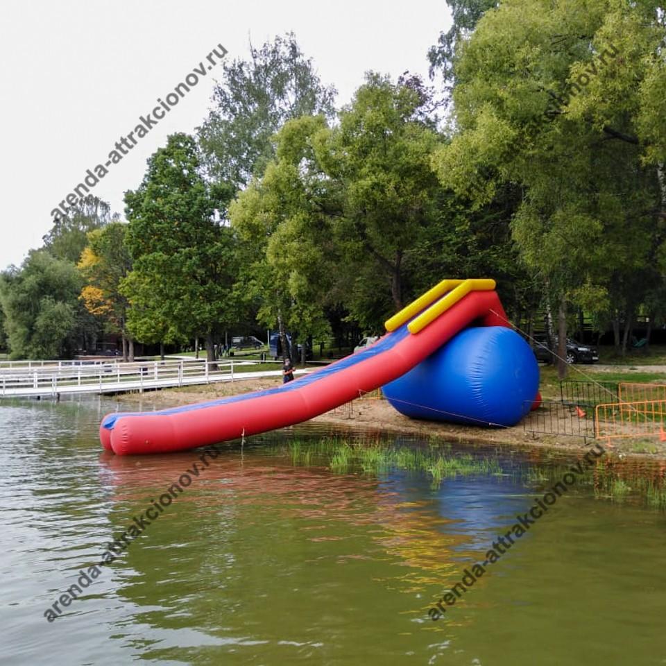 Водяная горка для спортивных соревнований