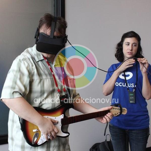 Аренда Guitar Hero VR на мероприятие в Москве и Области