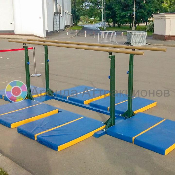 Брусья для занятий гимнастикой в аренду