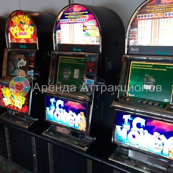 Игровые автоматы - выездное казино из Лас Вегаса