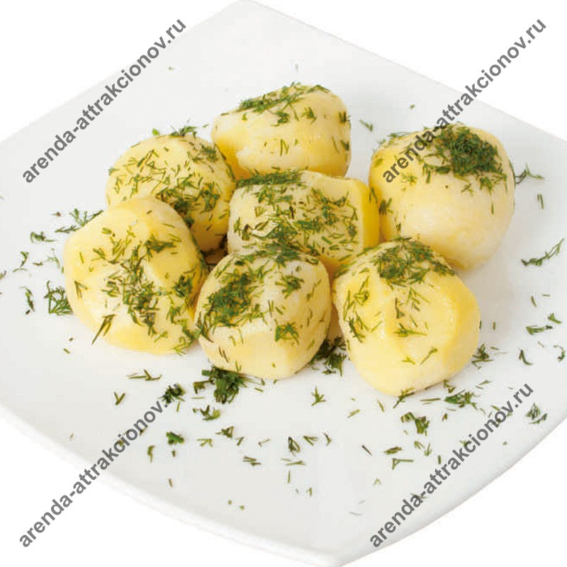 Картофель отварной Бэби с укропом