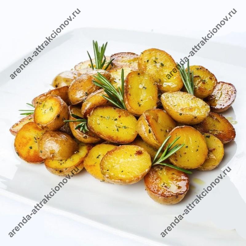 Молодой картофель, запеченный с розмарином и чесночком