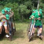 Аренда аттракционы Командные ходули