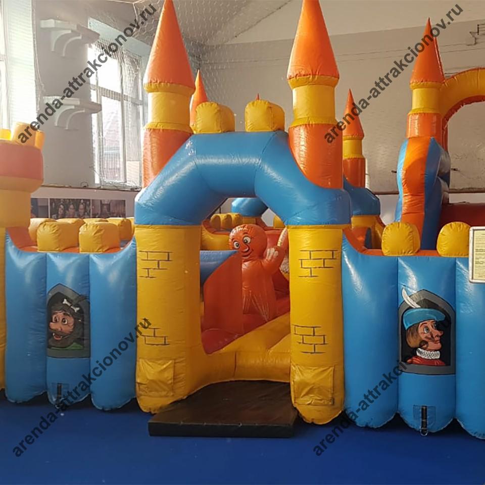 Детский батут замок в аренду