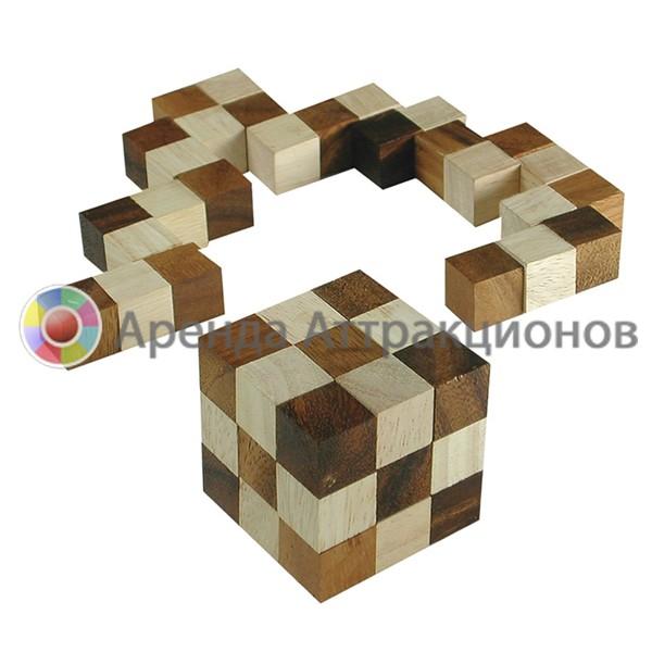 Головоломка куб змейка в аренду на мероприятие