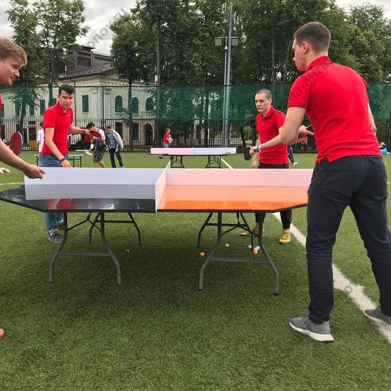Необычный настольный теннис