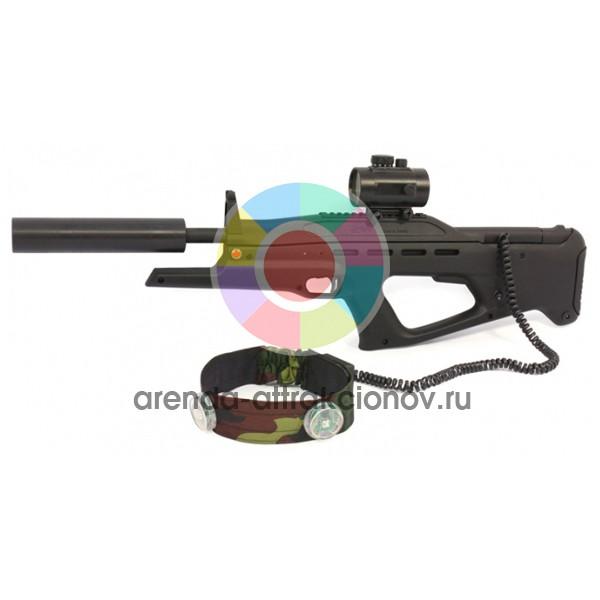 Дополнительный комплект для лазертага (пейнтбола с лазерными винтовками)