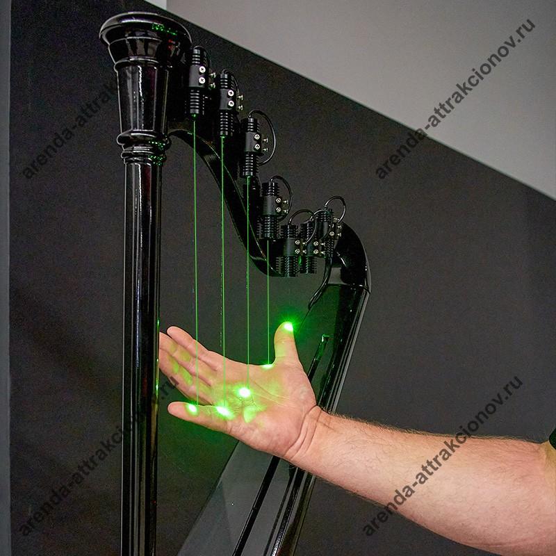 Аренда Лазерной арфы на промо мероприятие