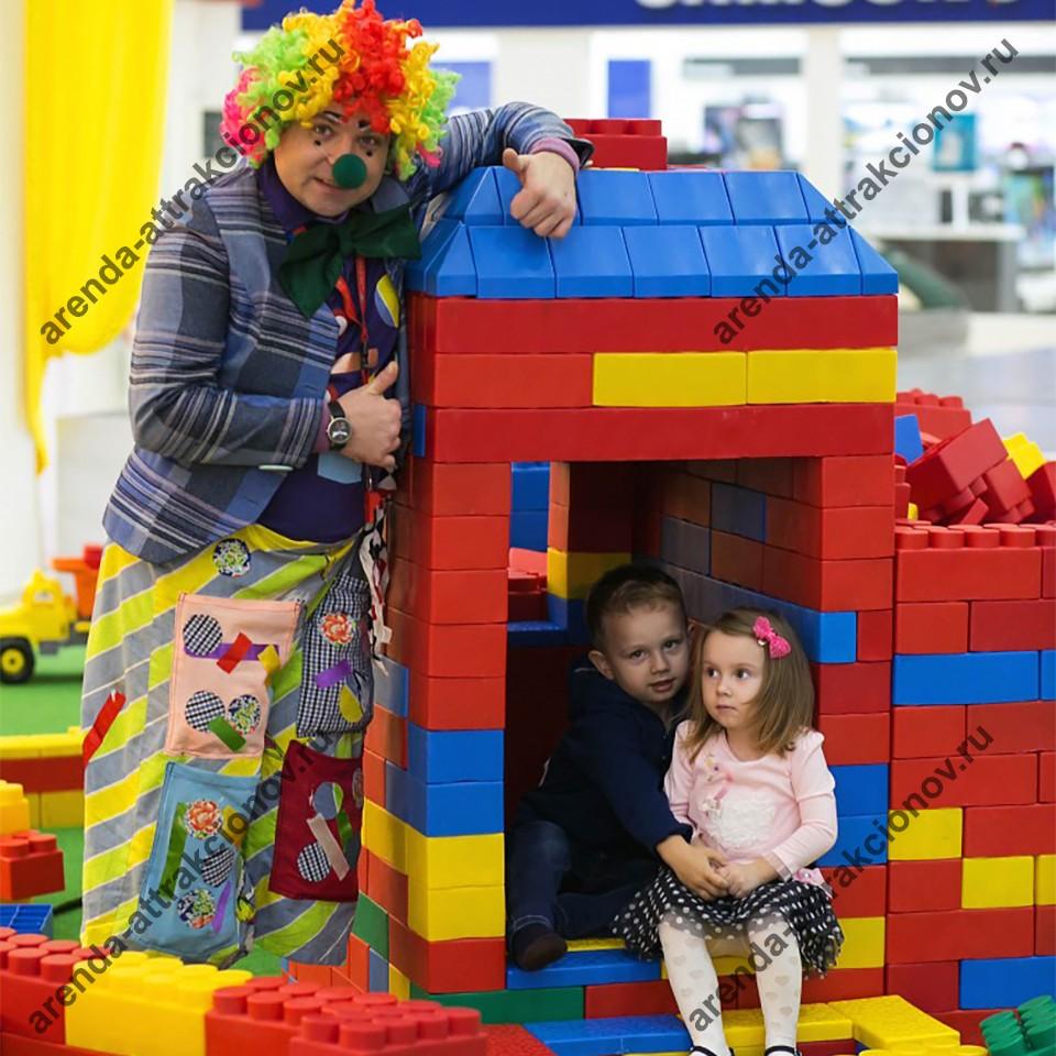 Конструктор Гигантское Лего на корпоративное мероприятие в Москве