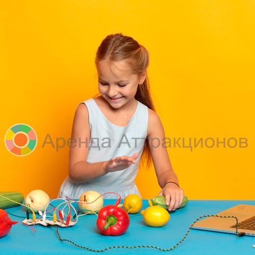 Фруктовый диджей - аттракцион звуки из фруктов