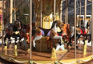 карусель лошадки