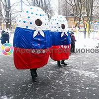 Два взрослых костюма Матрешка в аренду