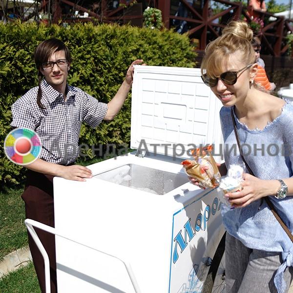 Тележка с мороженым в аренду на мероприятие