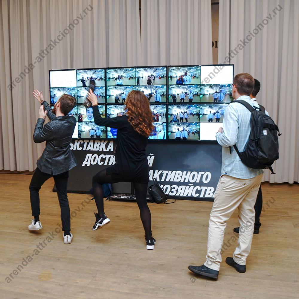Аренда интерактивной стены Мультиэхо на мероприятие