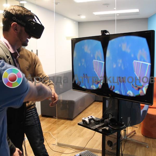 Игровая приставка VR в аренду
