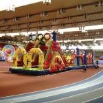 Заказать полосу препятствий Олимпийская в аренду на праздник