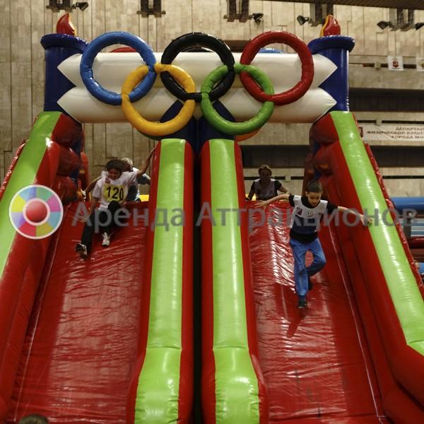 Полоса препятствий Олимпийские кольца в аренду