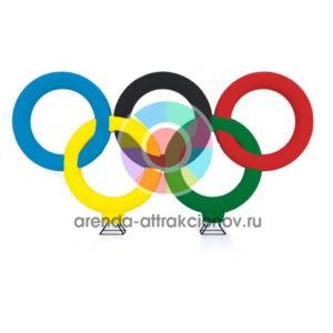 Надувная фигура Олимпийские кольца