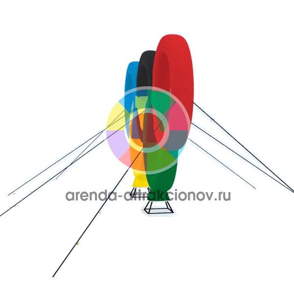 Модель надувной фигуры Олимпийские кольца