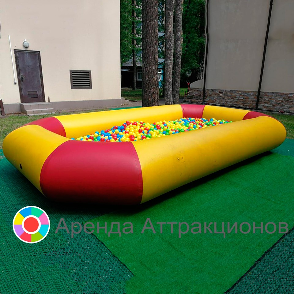 Сухой бассейн прямоугольный