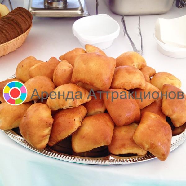 Пирожки с картошкой в аренду на мероприятие