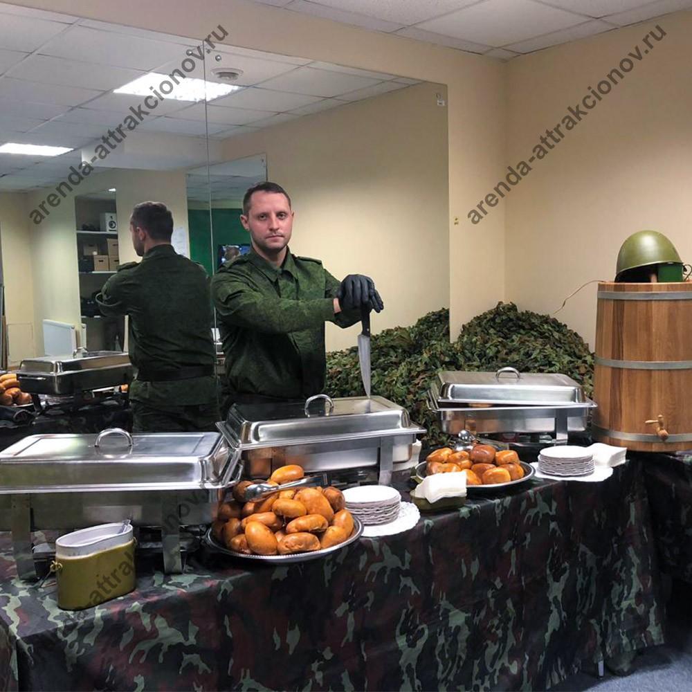 Военное питание в офисе