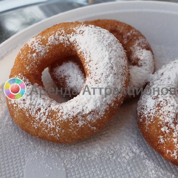 Пончики с сахарной пудрой на мероприятие
